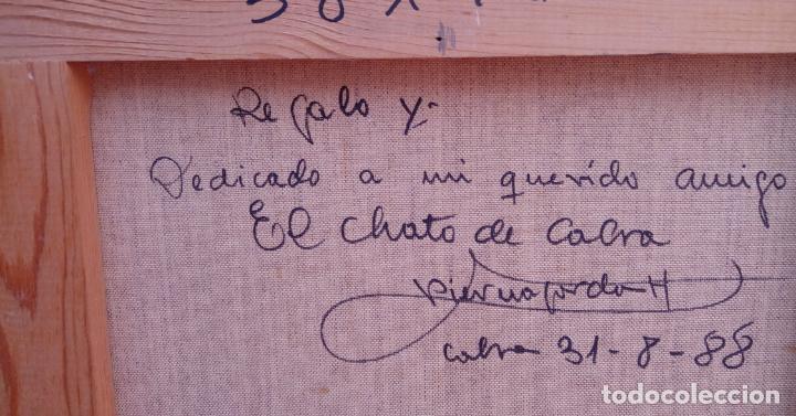 Arte: ÓLEO S/LIENZO DE VICENTE PIERNAGORDA -PAISAJE DEL ALTO ARAGÓN-. FECHADO EN 1979. DIM.-71X63,5 CMS. - Foto 16 - 214545420