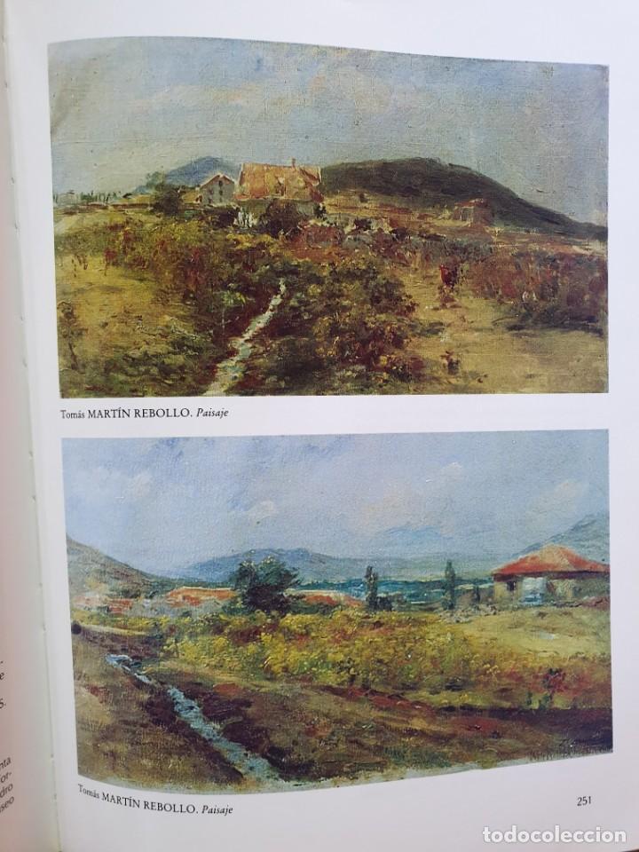 Arte: Excelente Óleo sobre tela de Tomàs martin rebollo (Granada 1858-madrid 1919).toros en sevilla. - Foto 25 - 214571292