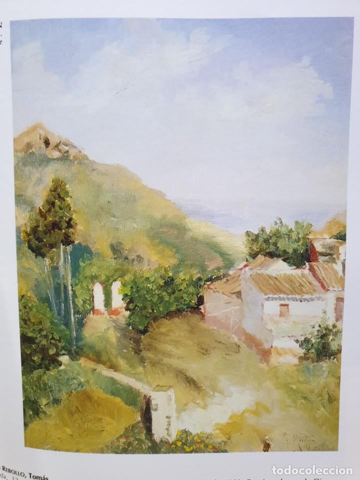Arte: Excelente Óleo sobre tela de Tomàs martin rebollo (Granada 1858-madrid 1919).toros en sevilla. - Foto 26 - 214571292