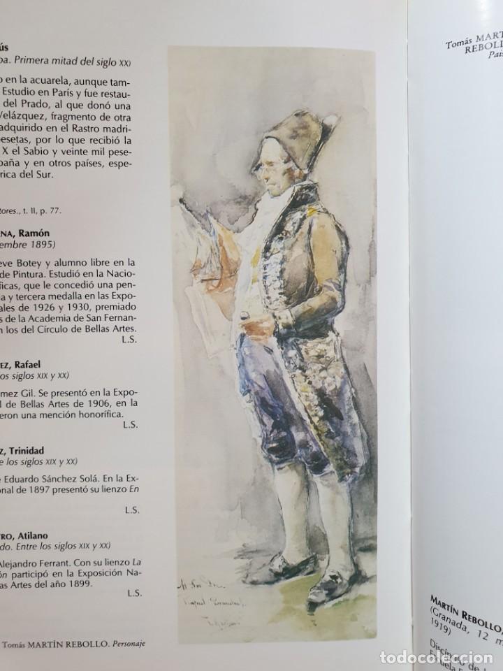 Arte: Excelente Óleo sobre tela de Tomàs martin rebollo (Granada 1858-madrid 1919).toros en sevilla. - Foto 27 - 214571292