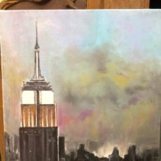 Arte: OLEO SOBRE LIENZO FIRMADO ANDRES - NEW YORK - MEDIDA 41X33 CM. Lote 214665660