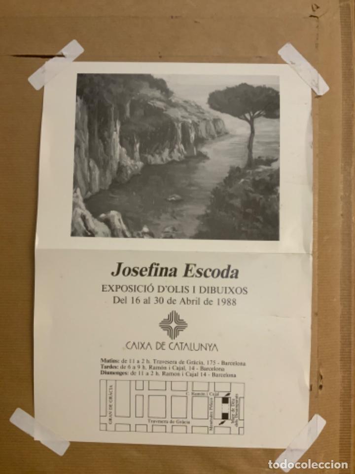 Arte: PINTURA AL ÓLEO JOSEFINA ESCODA - Foto 6 - 214753377