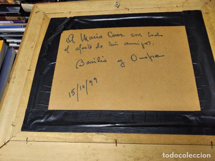 Arte: MAGNÍFICO ÓLEO EN TABLA DE OLIVOS DEL PINTOR MALLORQUÍN BASILIO ESCUDERO . 57 X 46 CM . MALLORCA - Foto 7 - 214770315