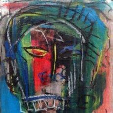 Art: RASTA I - ORIGINAL LIENZO 37X46 CMS JUAN MANE CHECA (MOMO) EXPRESIONISMO CARIBEÑO ¡SUPEROFERTA!. Lote 214800331