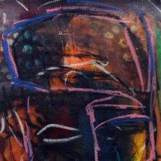 Art: RASTA K- ORIGINAL LIENZO 28X49CMS JUAN MANE CHECA (MOMO) EXPRESIONISMO CARIBEÑO ¡SUPEROFERTA!. Lote 214803315