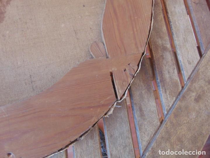 Arte: PINTURA OLEO SOBRE LIENZO RETRATO DE CABALLERO FIRMADO FRANCISCO TRISTAN 1876 SEVILLA RESTAURAR - Foto 18 - 214810467