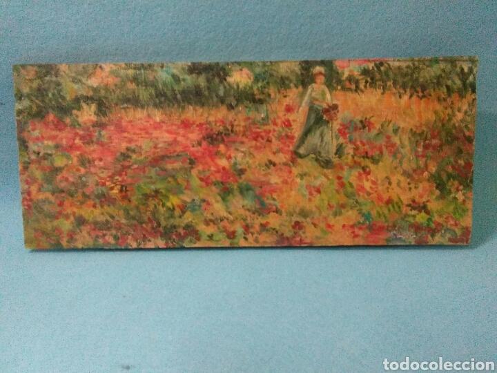 PINTURA ANTIGUA OLEO SOBRE TABLA,PAISAJE IMPRESINISTA (Arte - Pintura - Pintura al Óleo Moderna siglo XIX)