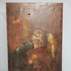Arte: OLEO RELIGIOSO SIGLO XVI. Lote 215051343