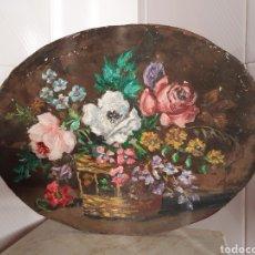 Arte: PRECIOSA PAREJA DE BODEGONES CON MOTIVOS FLORALES. Lote 117719743