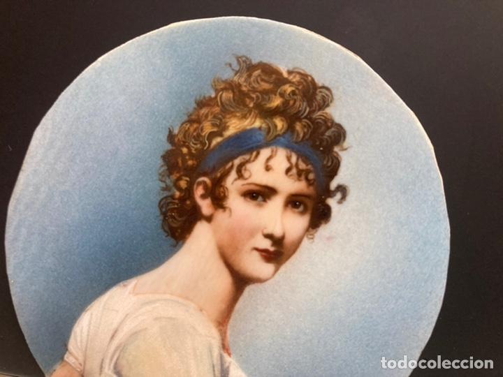 Arte: Preciosa miniatura sobre marfil firmada - Foto 7 - 215191242