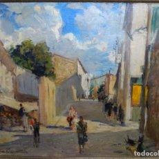 Arte: EXCELENTE ÓLEO DE FRANCESC LABARTA I PLANAS(1883-1963).CRUCE DE LA GARRIGA 1942.. Lote 215231283