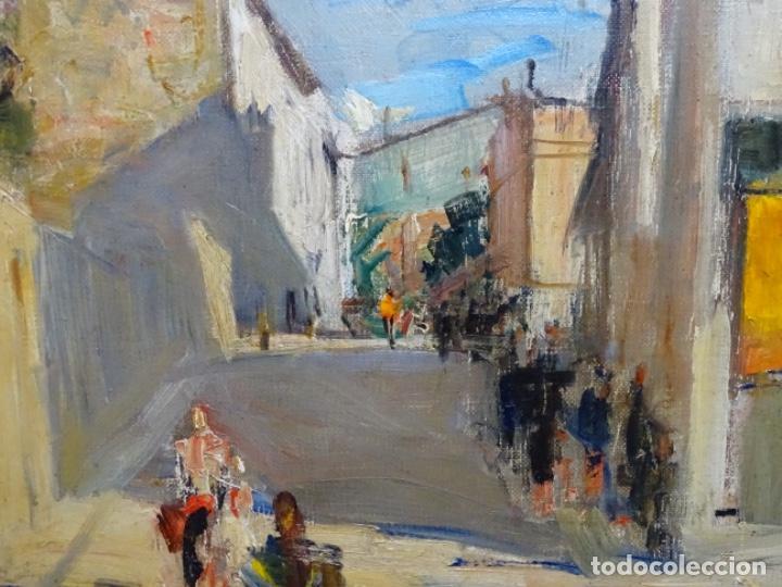 Arte: Excelente óleo de Francesc labarta i planas(1883-1963).cruce de la garriga 1942. - Foto 5 - 215231283