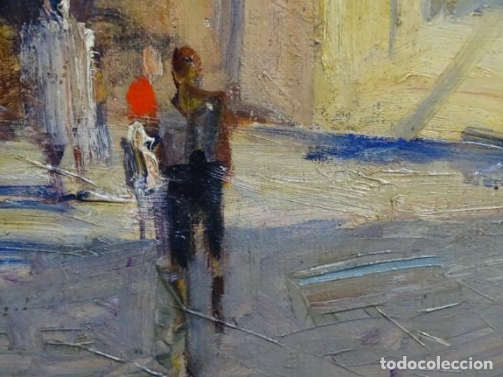 Arte: Excelente óleo de Francesc labarta i planas(1883-1963).cruce de la garriga 1942. - Foto 9 - 215231283