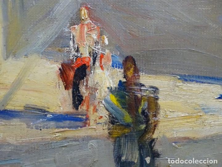 Arte: Excelente óleo de Francesc labarta i planas(1883-1963).cruce de la garriga 1942. - Foto 10 - 215231283