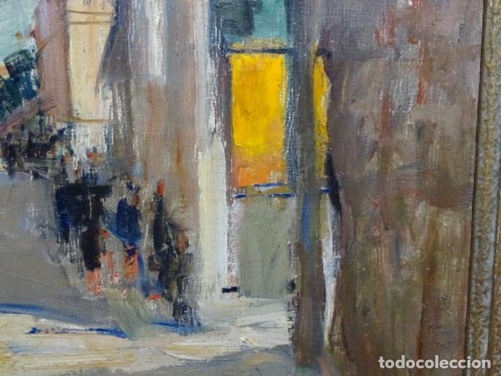 Arte: Excelente óleo de Francesc labarta i planas(1883-1963).cruce de la garriga 1942. - Foto 12 - 215231283