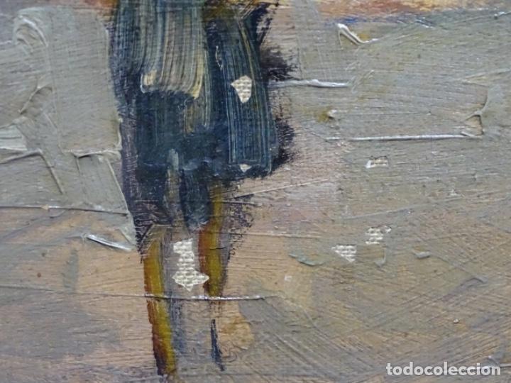 Arte: Excelente óleo de Francesc labarta i planas(1883-1963).cruce de la garriga 1942. - Foto 14 - 215231283