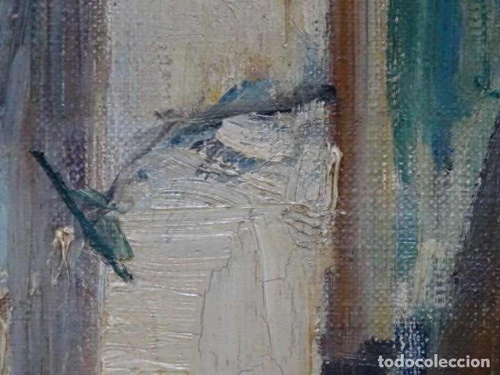 Arte: Excelente óleo de Francesc labarta i planas(1883-1963).cruce de la garriga 1942. - Foto 15 - 215231283