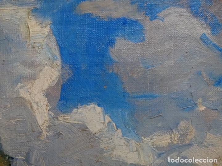 Arte: Excelente óleo de Francesc labarta i planas(1883-1963).cruce de la garriga 1942. - Foto 16 - 215231283