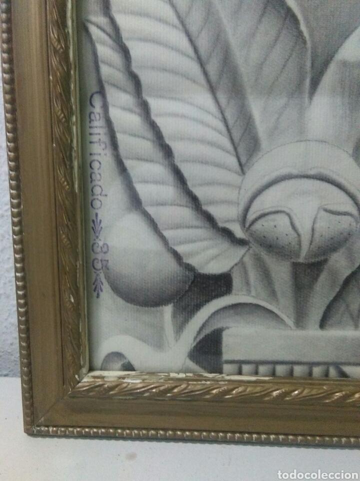 Arte: Antiguo dibujo plumilla y carboncillo estilo barroco siglo XIX - Foto 2 - 215237960