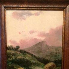 Arte: EL PICO POR ELISEO MEIFREN (1859-1940). Lote 215663143