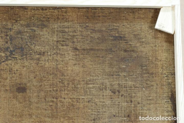 Arte: Óleo lienzo San Felipe Neri Escuela toledana siglo XVII círculo de Juan Sanchez Cotán - Foto 23 - 215944275