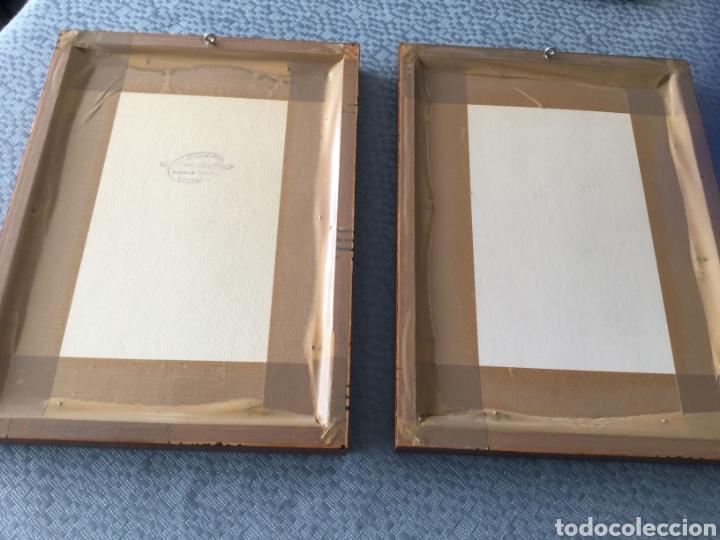 Arte: Dos cuadros pintados a plumilla firmados por el autor - Foto 4 - 216364788