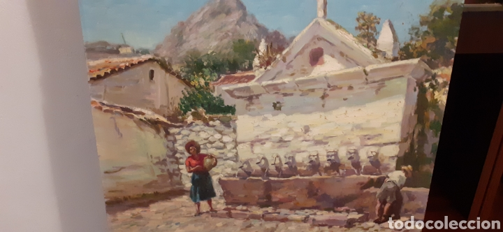 CUADRO ,OLEO SOBRE TABLA DE CARTÓN PIEDRA ,FIRMADO RODRIGUEZ CABAS, (Arte - Pintura - Pintura al Óleo Moderna sin fecha definida)