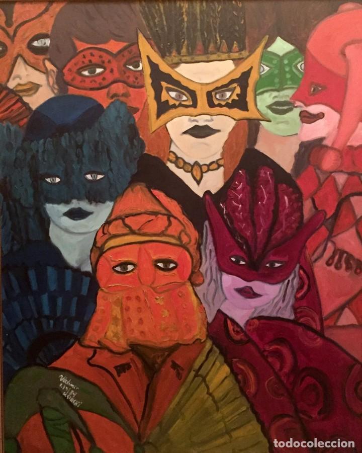 CARNIVALS (Arte - Pintura Directa del Autor)