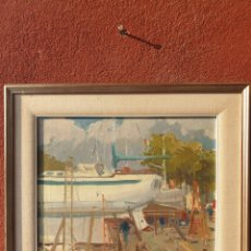 Arte: CASANE PUIG. ASTILLEROS PALMA 7/83.. Lote 216898137