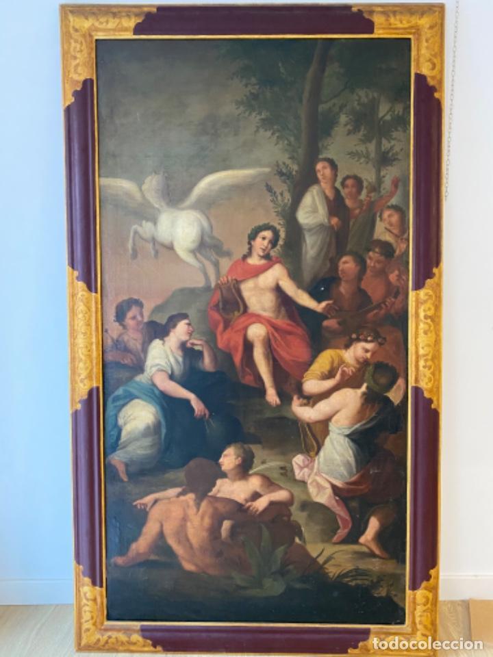 Arte: Cuadro finales XVIII alegorias - Foto 3 - 216929975