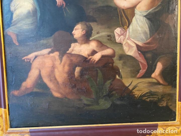 Arte: Cuadro finales XVIII alegorias - Foto 4 - 216929975