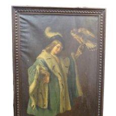 Arte: O/L RETRATO HISTORICISTA CARLOS V- S.XIX, FIRMADO. COLECCIÓN DEL INFANTE SEBASTIAN GABRIEL DE BORBÓN. Lote 216770302