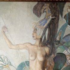Arte: OBRA DE MUSEO.MAGNIFICA PINTURA OLEO.GUENNADI ULIBIN.. Lote 217002913