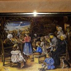 Arte: PINTURAS AL ÓLEO MINIATURAS. Lote 217125805