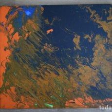 Arte: ARTE FLUIDO. ANOCHECIENDO. 50X40 CM. TORAIDO ALGAÑO. Lote 217184227
