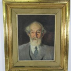 Arte: ARMAND MIRAVALLS BOVÉ (BARCELONA 1916-1978) - ÓLEO SOBRE TELA - RETRATO - JULIOL 1945, ARGENTONA. Lote 217232367