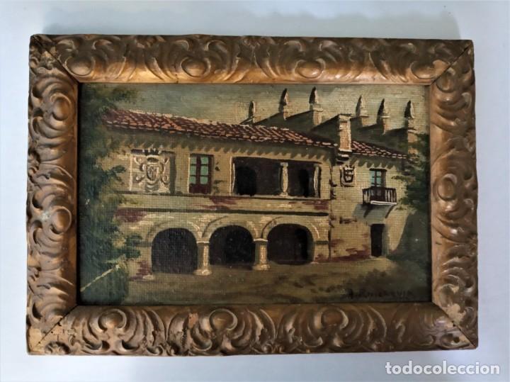 DOS CUADROS DE ANTONIO RUICARVIA (Arte - Pintura - Pintura al Óleo Antigua sin fecha definida)