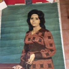 Art: RETRATO DE SEÑORA - PINTADO EN 1971 - MEDIDAS; 100 X 75 CMS.. Lote 217339706