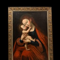 Arte: EXTRAORDINARIA VIRGEN S. XVI, ESC. ALEMANA. Lote 217401432