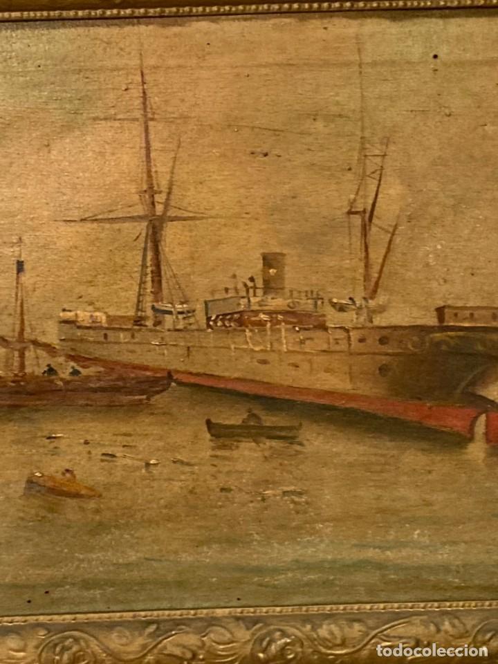 Arte: Pareja de marinas S XIX. Firmadas - Foto 14 - 99374559