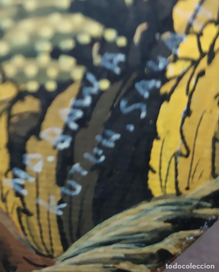 Arte: MD BAWA KUTUH SAYAN OLEO SOBRE LIENZO ESCENA PAISAJE BALINÉS INDONESIA BALINESA MUJERES LAGO BOSQUE - Foto 14 - 217489667