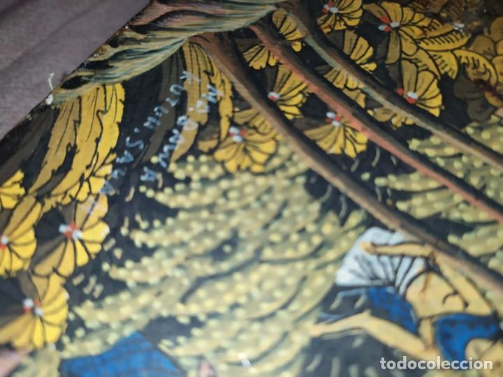 Arte: MD BAWA KUTUH SAYAN OLEO SOBRE LIENZO ESCENA PAISAJE BALINÉS INDONESIA BALINESA MUJERES LAGO BOSQUE - Foto 26 - 217489667