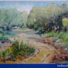 Arte: ÓLEO DE LLUÍS ARAN MASIP.. Lote 217492523