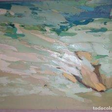 Arte: OLEO SOBRE TELA SACO CUBA A. CASTELLOTE 1971? 1977?VALENCIA. Lote 217499295