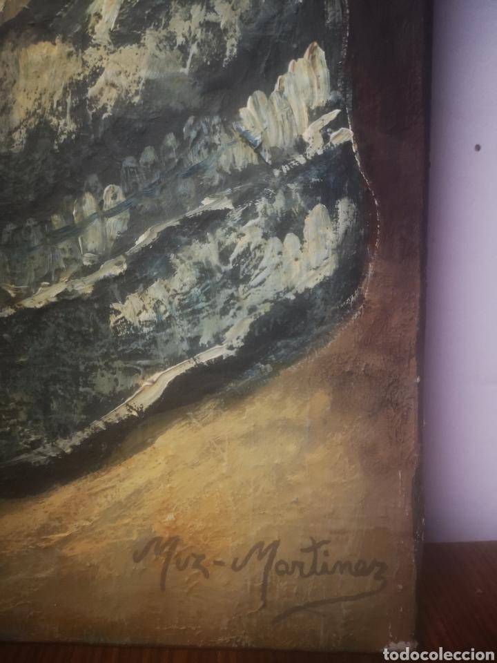 Arte: JUAN MUZ-MARTÍNEZ, menina según. Oleo sobre lienzo, firmado 33x41cm - Foto 3 - 217540183