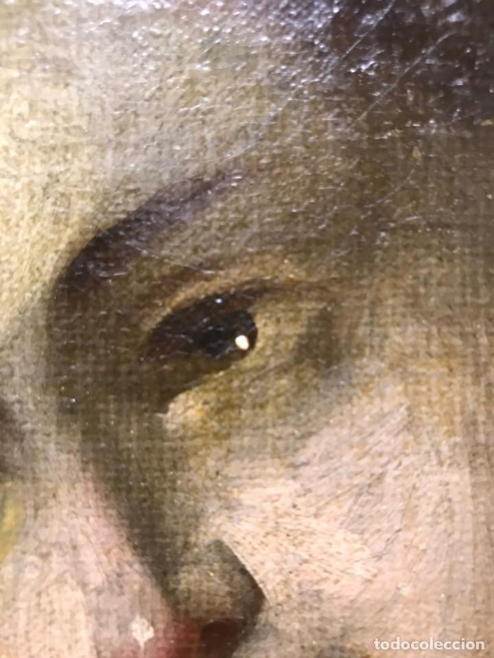 Arte: Excepcional óleo Virgen Inmaculada Siglo XVIII - Foto 6 - 217567238