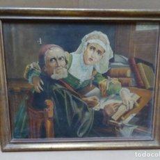 Art: ÓLEO SOBRE TELA.SIGLO XIX 1889.EXTRANJERO.NECESITA RESTAURACIÓN. Lote 217573800