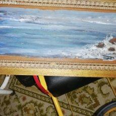 Arte: OLEO SOBRE TABLA DEL AFAMADO PINTOR ENRIQUE SÁNCHEZ. Lote 217643580