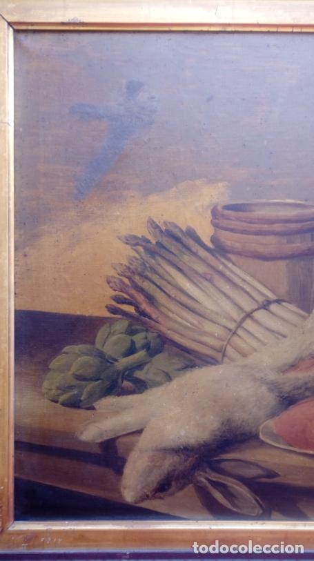 Arte: ÓLEO S/LIENZO CON DOBLE MARCO. AUTOR.- LUIS MURIEL Y LÓPEZ (1859-1919). DIM.- 101X76.5CMS. - Foto 3 - 217649173