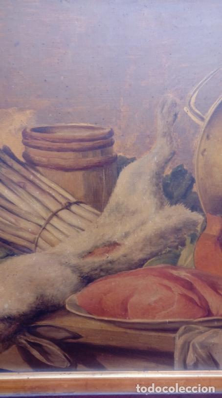 Arte: ÓLEO S/LIENZO CON DOBLE MARCO. AUTOR.- LUIS MURIEL Y LÓPEZ (1859-1919). DIM.- 101X76.5CMS. - Foto 4 - 217649173